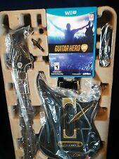 NEW Guitar Hero Live Bundle for WiiU (Nintendo Wii U)