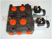 HydraulikMagnetventil 8/3-Wegeventil NG06 24V DC - Leckölanschluss inkl. Stecker