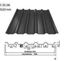 Trapezblech, Dachplatten, Wellblech Profilblech Dachblech T-35 0,63 - 10,71 €/m2