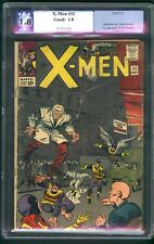 X-MEN #11,PGX 1.8,UNRESTORED,FIRST APP OF THE STRANGER,KIRBY!