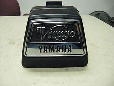 Yamaha OEM NOS seat box assembly logo 4x7-2475a-00-00 Virago XV750 XV920 1983