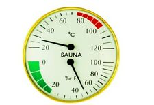 Anymetre TH-100 Sauna Temperature And Humidity Hygrometer Gauge Type 1