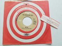 "THE KINGSTON TRIO - Tom Dooley / M.T.A. 7"" FOLK Capitol Reissue 1950's jukebox"