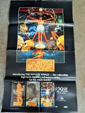 INFINITE VOYAGE (VIDEO DEALER 28 X 17 POSTER, 1990S) HI-TECH DISCOVERY SERIES