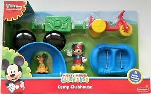 Fisher-Price Disney Mickey Mouse Clubhouse Camping Clubhouse Mickey Figures New