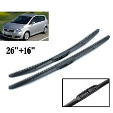 """26"""" 16"""" For Toyota Corolla Verso 2004-2009 Front Window Windshield Wiper Blades"""