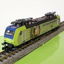"Fleichmann 738507N Scale  Swiss class 485 electric locomotive  ""BLS Cargo"" ."