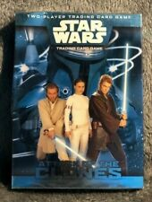 STAR WARS Attack Of The Clones 2-player Starter Set Factory Sealed CARD GAME OOP