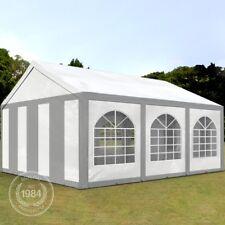 Partyzelt Pavillon Bierzelt Festzelt Gartenzelt Vereinszelt Zelt grauweiß 3x6x2m