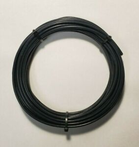 12 AWG Blk Mil-Spec Wire, M16878/4 (PTFE) Stranded Silver Plated, 32 ft