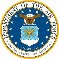 """USAF Air Force Seal Color Vinyl Decal Sticker - You Choose Size 2""""-28"""""""