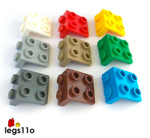 LEGO Bracket 1x2 - 2x2 Down Plate NEW 21712 / 44728 choose colour and quantity