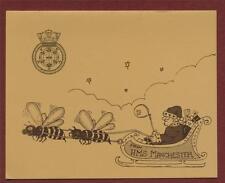 HMS MANCHESTER.  Christmas card. mv.24