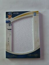 2016 Immaculate Trayce Thompson Jumbo Player worn Material 45/99