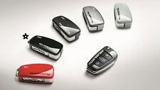 Audi Schlüsselblende brillantschwarz mit quattro Schriftzug 8V0071208A Y9B