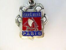 RARE Porte-Clés / Key Ring PEUGEOT/ DARL MAT PARIS - LOGO / LION GRIFFES TOP