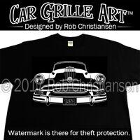 Car Grille Art™ Teeshirt, T Shirt, 1954, 54, Pontiac, Chieftain, Star Chief