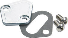 Allstar ALL40304 BB Chevy Fuel Pump Block-Off Plate Clear