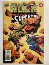 Incredible Hulk vs Superman (1999) 1st Print High Grade NM Marvel DC Crossover