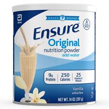 Ensure Powder Vanilla, 6 cans of 14 oz (397g),