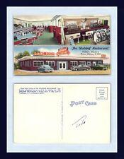 MARYLAND WALDORF RESTAURANT SLOT MACHINES & JUKEBOX CIRCA 1949 GAMBLING