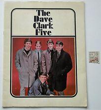 Dave Clark Five Program and 1967 Concert Ticket Stub
