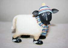 "NEW 2005 EWE and ME ""Hamish"" by TONY GOFFE Enesco Black Sheep Figurine NIB"