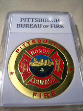 PITTSBURGH BUREAU OF FIRE Challenge Coin