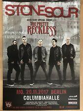 Stone Sour – Pretty Reckless 2017 Berlino-concert poster concerto MANIFESTO a1 NUOVO