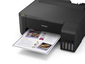 Epson ET-1110 Ecotank Economical Printer+All Original Ink+Free USB Printer Cable