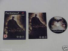 """BATMAN BEGINS Pour PLAYSTATION 2 """"RARE et difficile à trouver"""""""