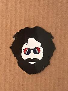 Grateful Dead Fire on the Mountain Jerry Garcia deadhead enamel lapel hat pin