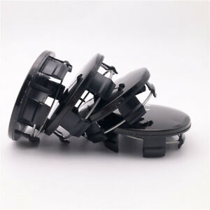4 pc Black Wheel Hub center Caps 2.5 Inch For  CHALLENGER CHARGER