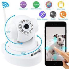 KKMOON 720P HD H.264 1MP Pan/Tilt IR WiFi Wireless Network IP Camera White new