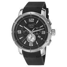 Esprit Collection Herren Uhr Armbanduhr Chrono Ourea Silikon EL101921F02