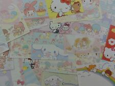 Hello Kitty My Melody Little Twin Star Cinnamoroll lot paper stationery sanrio