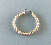 Vintage Doll Pearl Necklace Jewelry Madame Alexander Cissette Little Miss Revlon