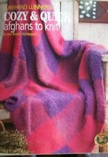 Weekend Winners: Cozy & Quick Afghans to Knit in Lion Brand Homespun