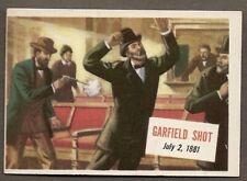 1954 Topps Scoops #9 Garfield Shot