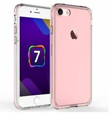 Funda Protectora De Cristal Transparente Gel suave cubierta de piel para Apple iPhone 6 6S