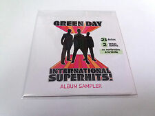 "GREEN DAY ""ALBUM SAMPLER"" CD SINGLE 7 TRACKS INTERNATIONAL SUPERHITS"