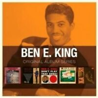 "BEN E. KING ""ORIGINAL ALBUM SERIES"" 5 CD NEU"