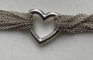 tiffany set Halskette/Armband, Collier/Bracelet SterlingSilber Wie Neu Like New