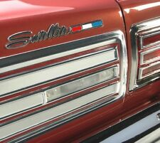 Reverse Light Lenses w/Gaskets Set for 1966 Plymouth B-Body