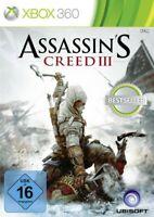 Microsoft Xbox 360 Spiel - Assassin's Creed III (DEUTSCH) (mit OVP)