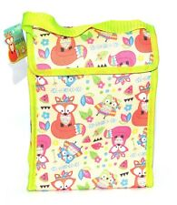 Cute Owls Cool Bag Lunch Box School Office Picnic Insulated Thermal Cooler
