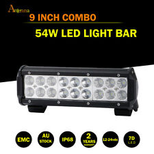 10Inch 54W  Led Flood Work Driving Light Bar Offroad 12V 4WD Truck Jeep 9