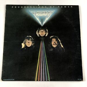Triumph - Progressions Of Power - LP EX/VG+ Hard Rock - Play Tested! AYL1-4561