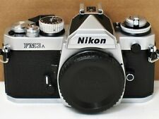 * New, Unused * Nikon Fm3A 35mm Chrome Camera Body Brand New