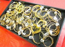 Jewelry Chain Store Liquidation Wholesale Lots Gold Plated Earring 20 Pair